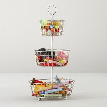 Three-Tier Flea Market Bin - contemporary - Toy Organizers - The Land of Nod