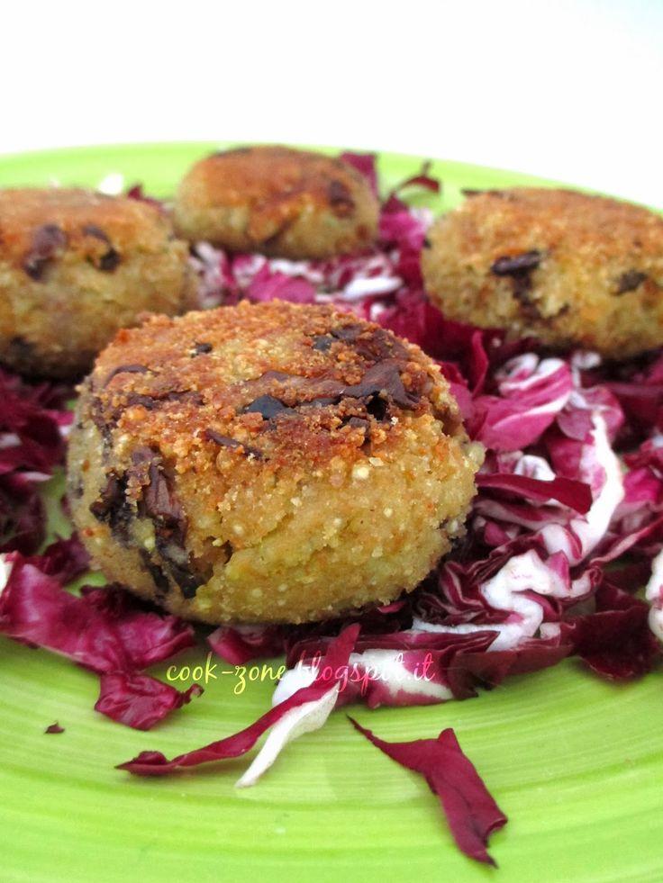 CoOk ZoNe: Polpette di quinoa con radicchio e cavolfiore