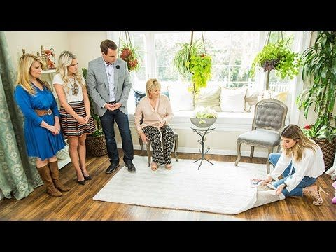 How To - Orly Shani's DIY Washable Statement Rugs - Home & Family
