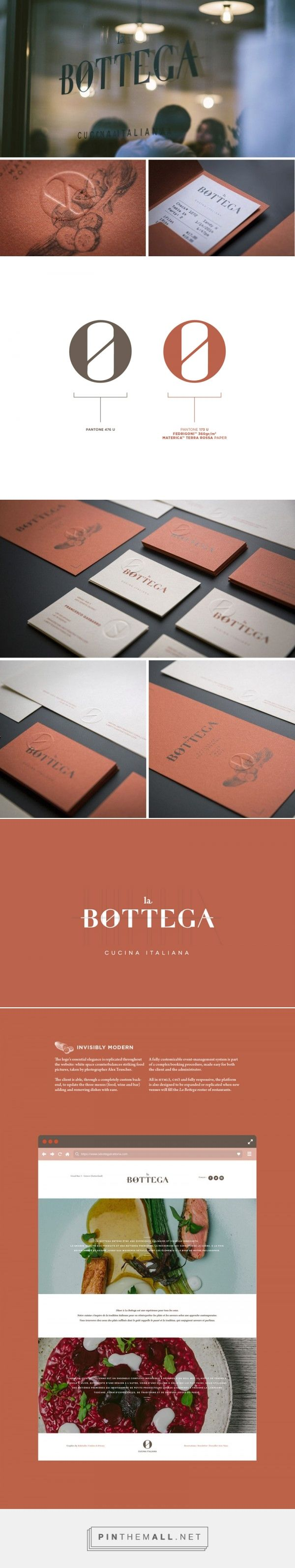 La Bottega – Restaurant Identity Design by kidstudio