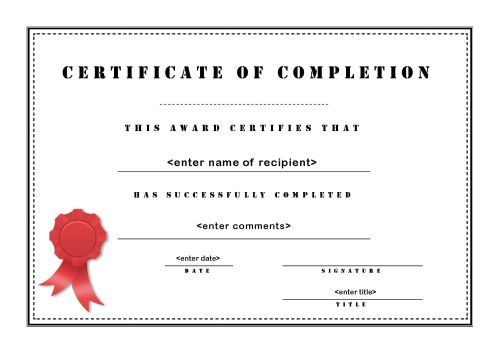 The 44 best Blank Certificate Templates images on