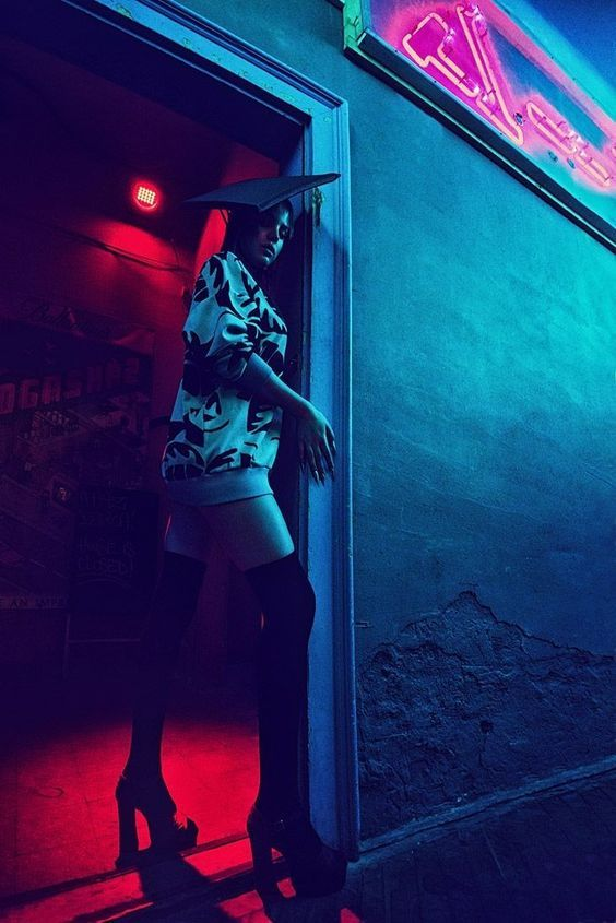 Going to the after party    | Pop Culture | Neon photography