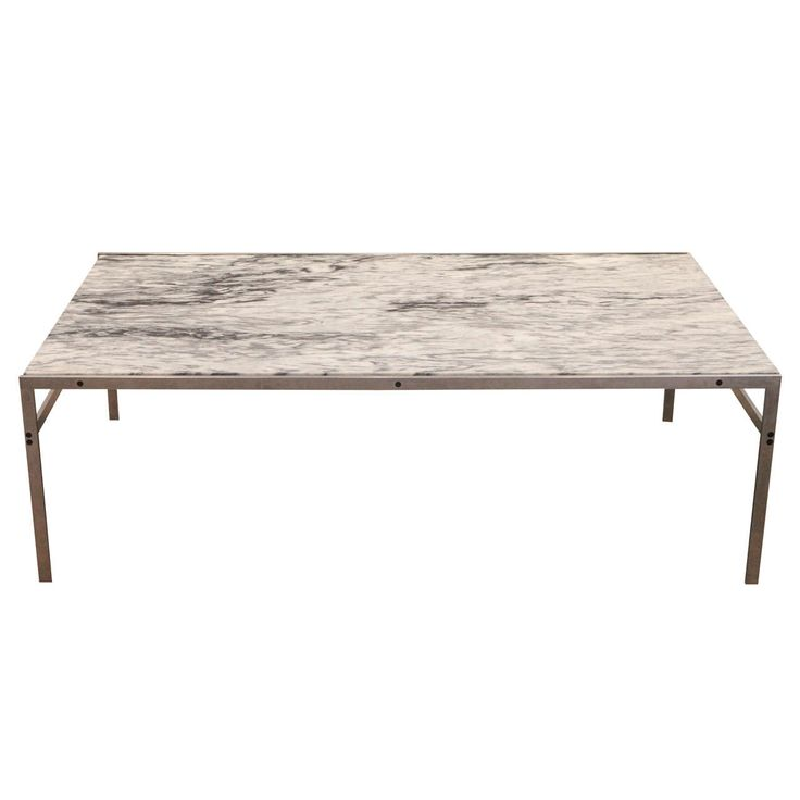 bo-551 coffee table in Cipollino marble. Design by Preben Fabricius and Jørgen Kastholm. http://www.bo-ex.dk/project/bo-550/
