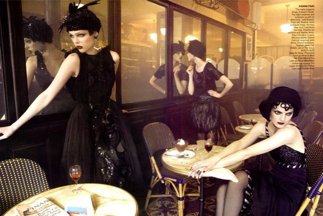 20s shoot: Vogue, September 2007, 20 S, 20S, Steven Meisel, Stevenmeisel, Fashion Photography, Grace Coddington