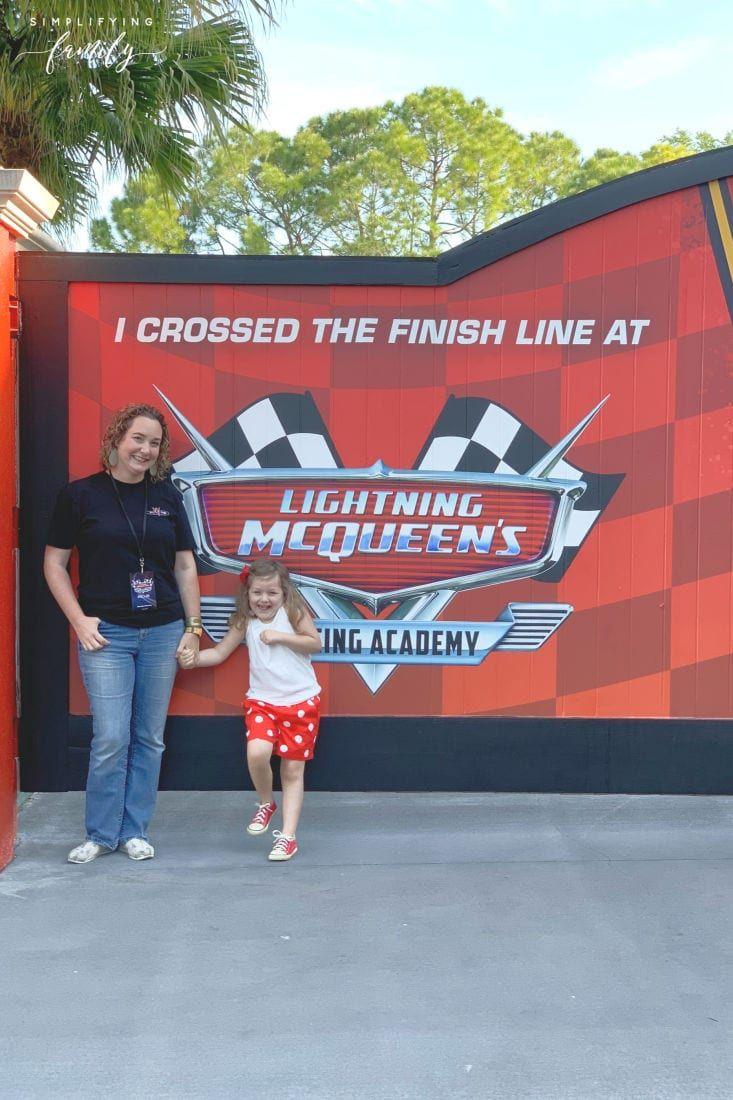 Lightning Mcqueen S Racing Academy At Disney S Hollywood Studios Lightning Mcqueen Hollywood Studios Disney Hollywood Studios