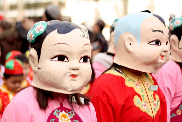 Street photography in Paris. Celebration of Chinese New Year.