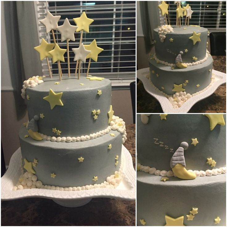 Twinkle, twinkle, little star Baby Shower Cake