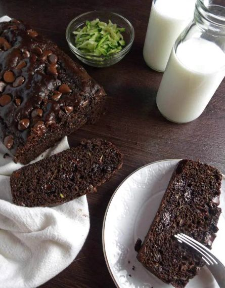 HEALTHY CHOCOLATE ZUCCHINI BREAD #chocolate #healthy # ...