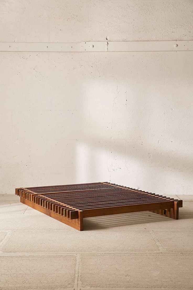 Sarah Slatted Platform Bed Woodworking Bed Platform Sarah