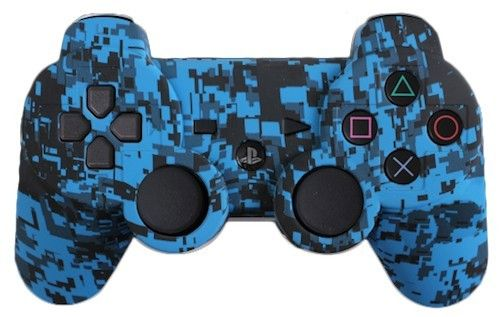Blue Urban Custom PS3 Controller - Brand New PlayStation 3 Controller