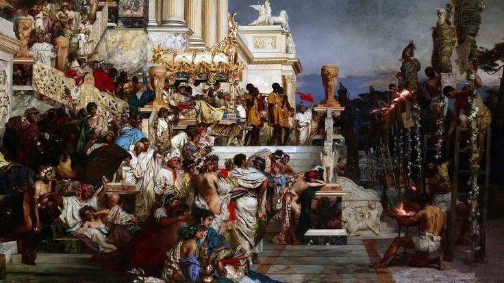 Henryk Siemiradzki, Pochodnie Nerona