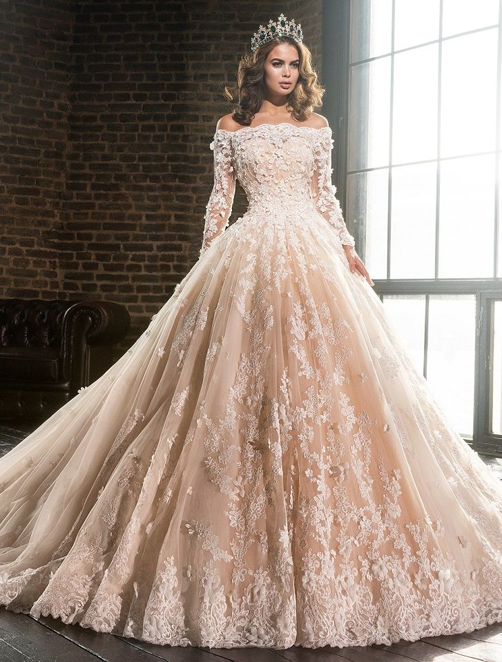 526 best Wedding Dresses - Be a Princess images on Pinterest
