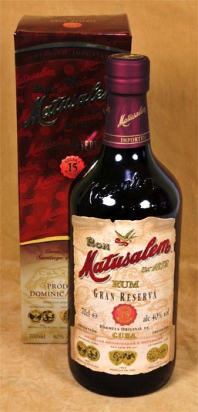 Matusalem Rum Gran Reserva 15