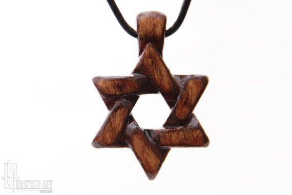 Star of David Jewish Symbol Jewelry  Shield of by CristherArt