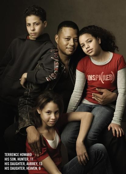 Famous and their Family | TERRENCE HOWARD - Closing the Gap with his Children
