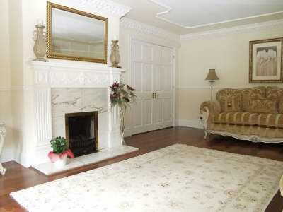 Georgian Style Fire Surround With Marble Hearth