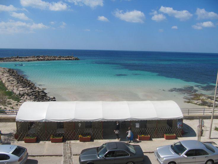 Spiaggetta di fronte all'Hotel Al Porticciolo Torre Vado (LE)