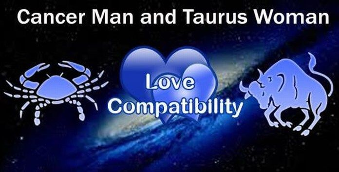 cancer female taurus male dating Cancer taurus couples generally have harmonious relationships a cancer woman needs someone who will luxuriate in her protective caring.