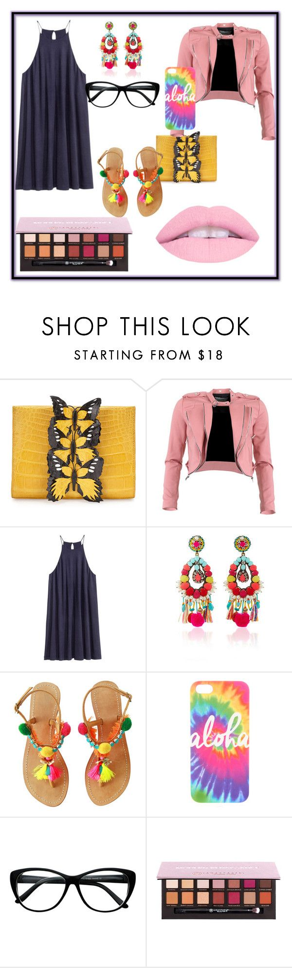 """""""Untitled #207"""" by frupapp on Polyvore featuring Nancy Gonzalez, FRACOMINA, Ranjana Khan and Anastasia Beverly Hills"""