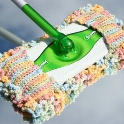 DIY- create your own crochet swiffer sweeper cover