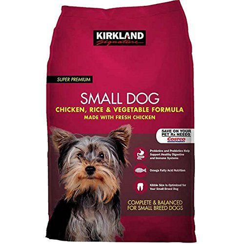 Kirkland Signature Small Breed Adult Dog Formula Chicken Rice