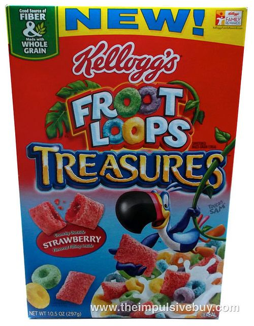 Kellogg's Froot Loops Treasures Cereal