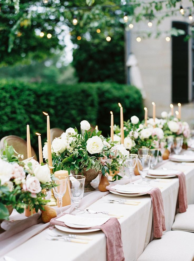 Watercolor Garden Wedding Inspiration with a Puppy of Honor