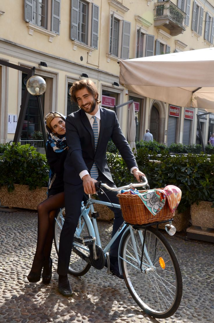 """Melancholy is incompatible with bicycling""""  - James E. Starrs #Kinloch and #Milan  #mensfashion #womensfashion #ties #stoles #fashion #bicycle #bike"""