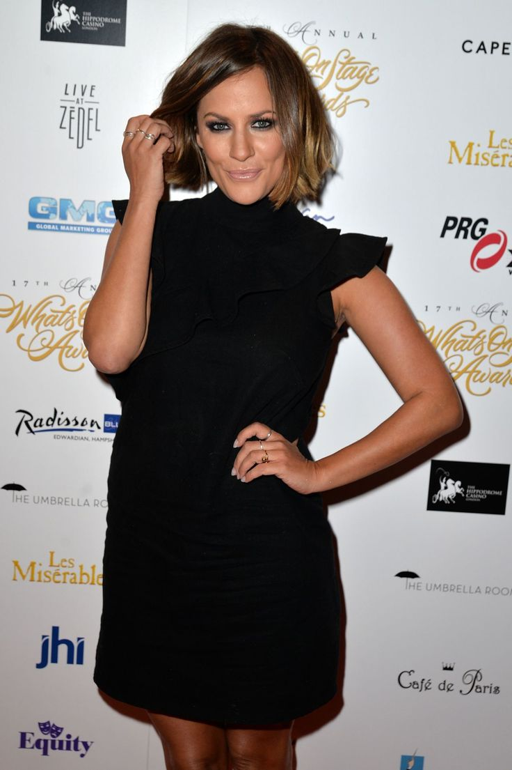 Caroline Flack #CarolineFlack 17th Annual WhatsOnStage Awards in London 19/02/2017 Celebstills C Caroline Flack