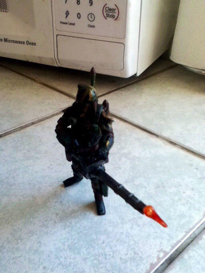 Every badass needs heavy firepower.