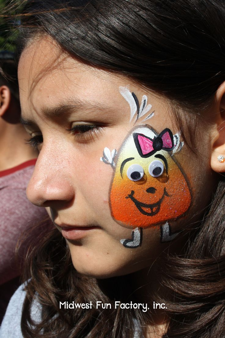 Uncategorized Face Paintings For Halloween 88 best face painting halloween images on pinterest dancing candy corn midwest fun factory