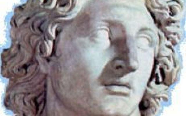 I capelli biondi (tinti) di Alessandro Magno #alessandromagno #capelli #tinta