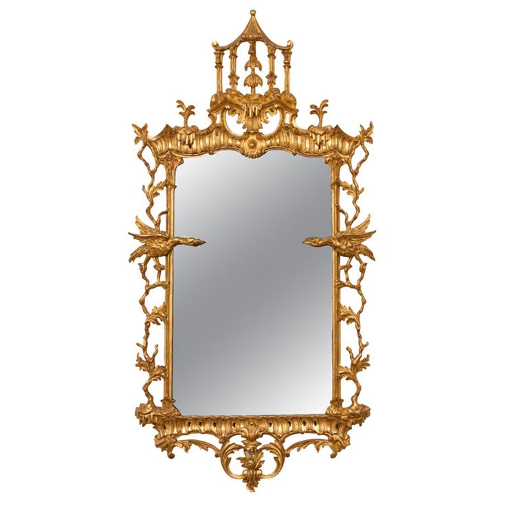 Important Chinese Chippendale Mirror Mirror Mirror On