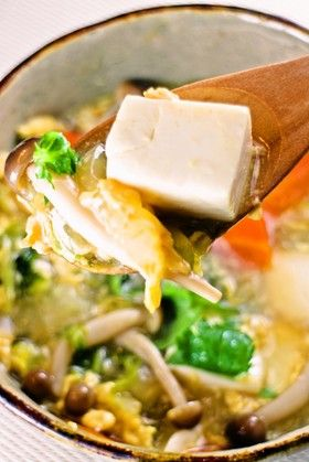 コツあり!大戸屋の豆腐と野菜のトロトロ煮 by めかまはぉ [クックパッド] 簡単おいしいみんなのレシピが247万品