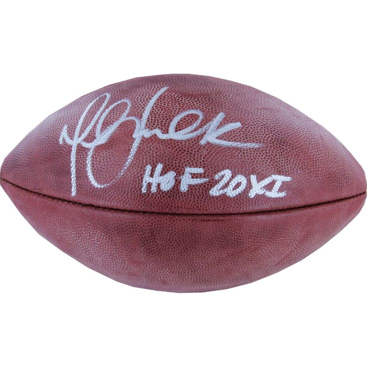 Marshall Faulk NFL Duke Football w/ 'HOF 20XI' Insc.