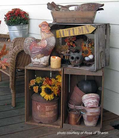 40 Best Craft Room Images On Pinterest DIY Crafts And Projects Magnificent Decorating With Old Wooden Boxes
