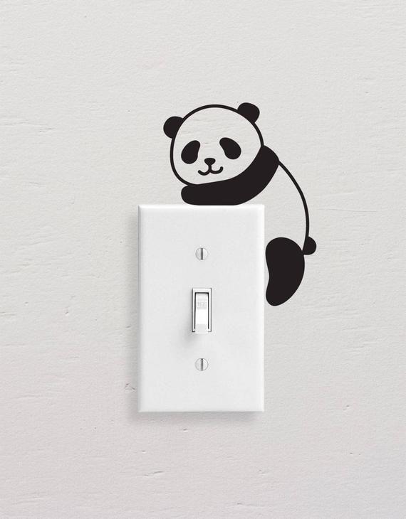 Novelty Boy Light Switch//Laptop//Tablet//Car Small Sticker