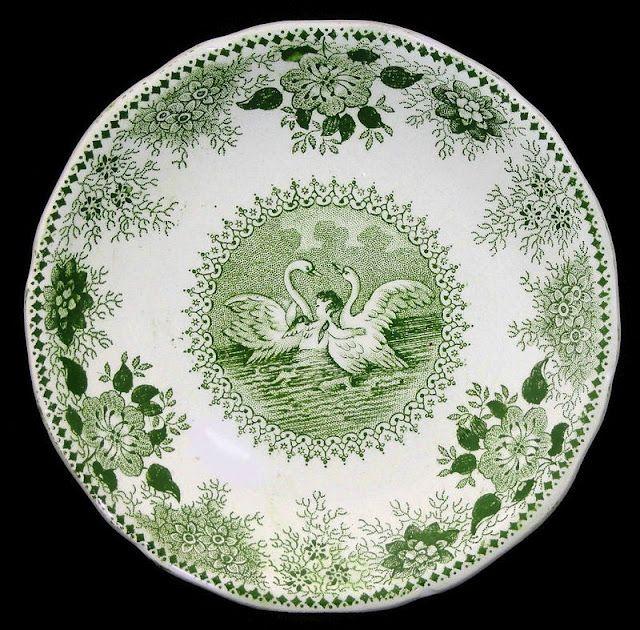 146 best transferware ~ green & white images on pinterest