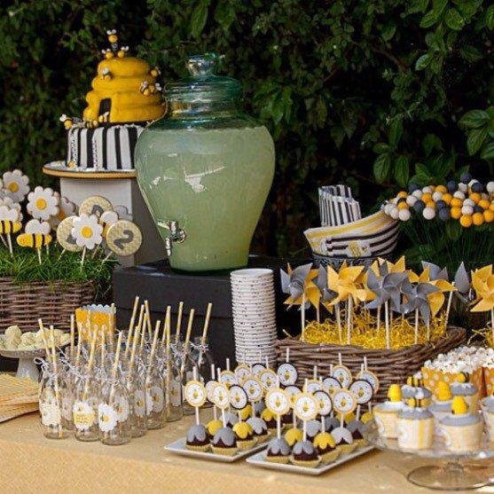 Bumble Bee Birthday Party Decor