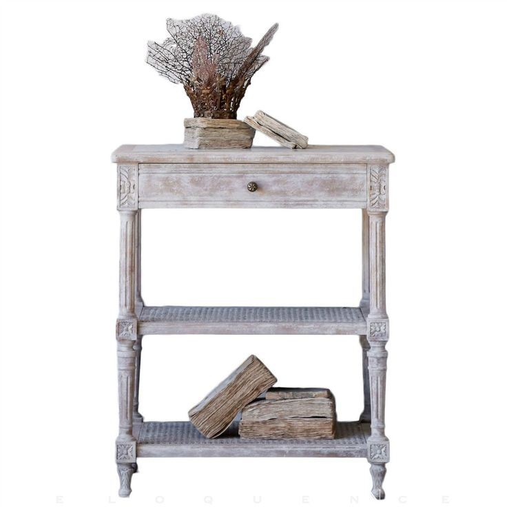 Eloquence Napoleon Beach House Natural Nightstand