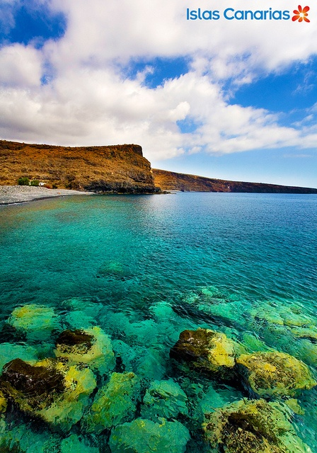 Playa de Tapahuga. LA GOMERA., via Flickr.
