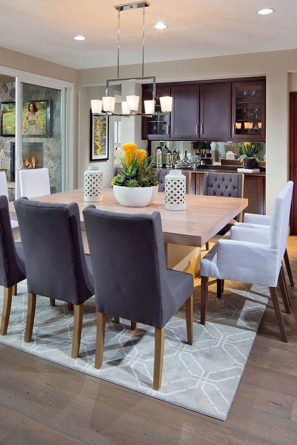 Dining Room Wine Bar Built In Buffet Square Table Chairsfordiningtable