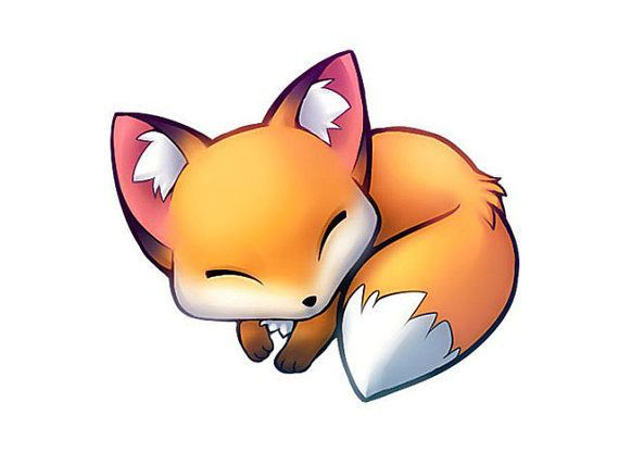 cute animated fox - Google Search                              …