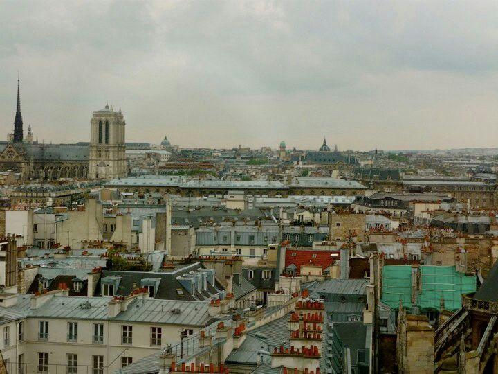 'Parisian rooftops'. By J. Karner, 2010.