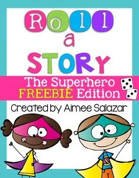 Roll a Story boards are perfect for motivating students to write!  This FREEBIE is sure to be a hit with young writers.  Perfect for a writing center, or as part of your writing workshop time.