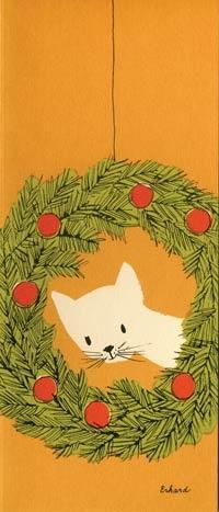 Erhard Christmas Cat @Emily Schoenfeld Schoenfeld Schoenfeld Schoenfeld Guill remind you of anyone???