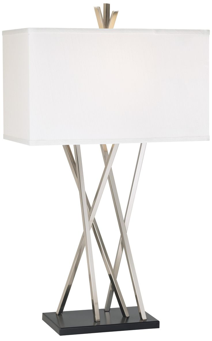 Delightful Possini Euro Design Asymmetry Table Lamp   Nice Look