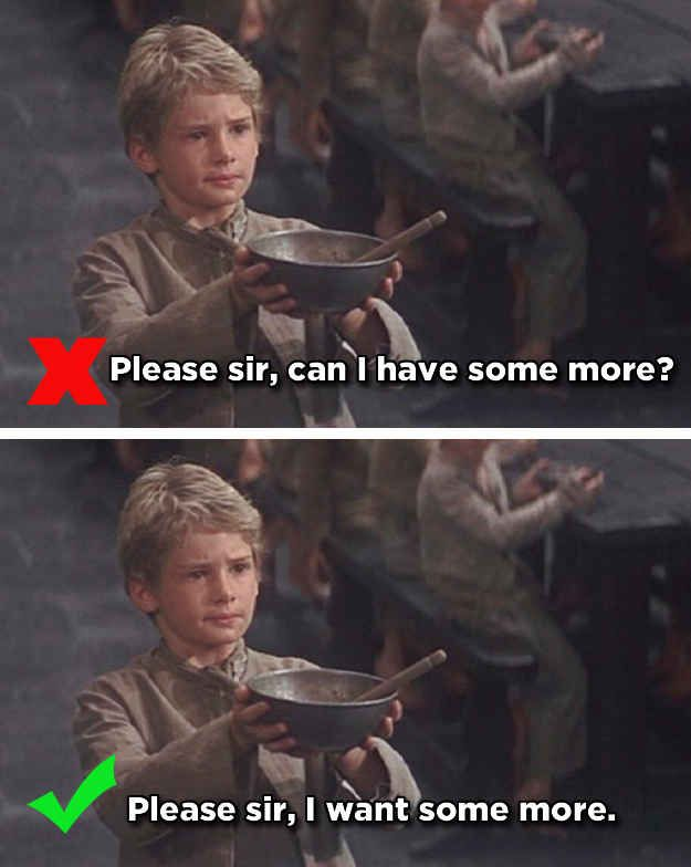 Oliver's Request - Oliver Twist   14 Famous Movie One-Liners You've Been Quoting Wrong For Years