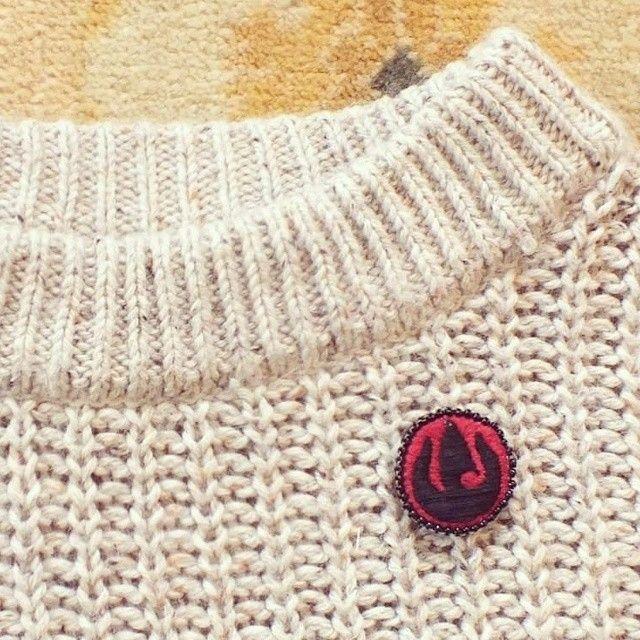 Fire Nation Brooche Avatar the Last Airbender #maluenda embroidery art
