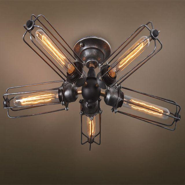 25 beste idee n over kooi licht op pinterest plafondventilator opnieuw doen - Licht industriele vintage ...